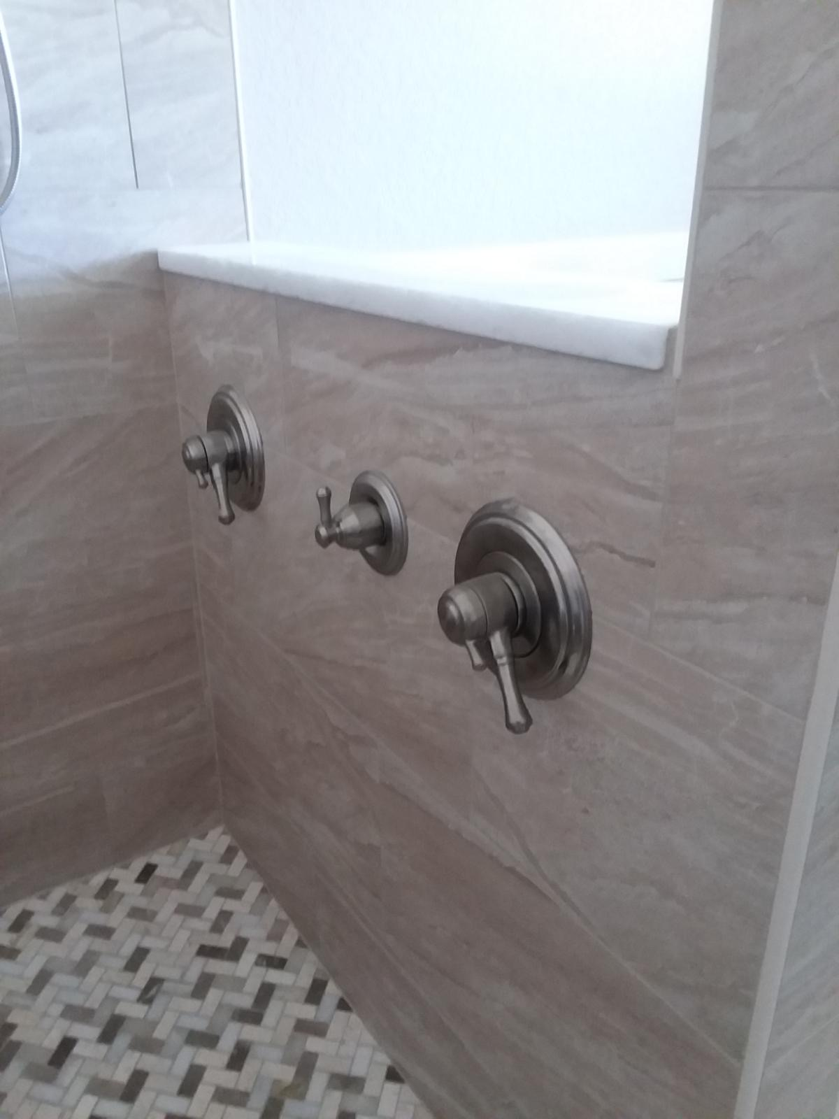 master bathroom suite shower
